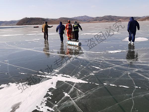 2020冬季打捞通化三名落水者