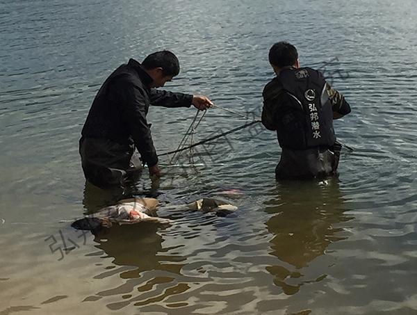 丹东溺水打捞