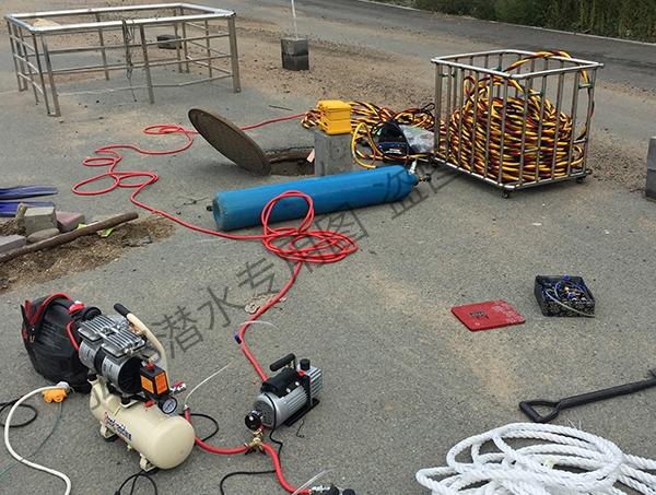 吉林市污水管道封堵
