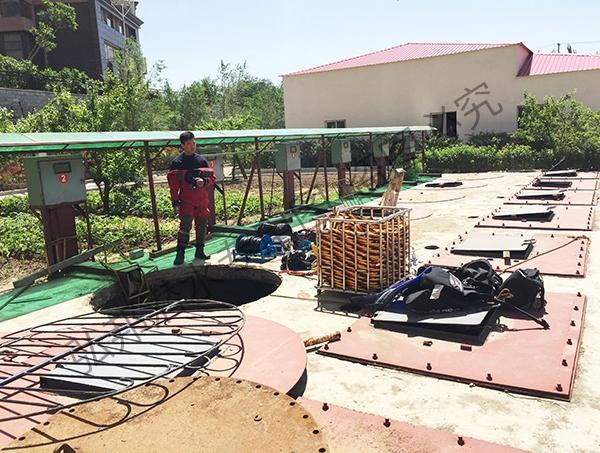 沈阳雨水泵站水下修理