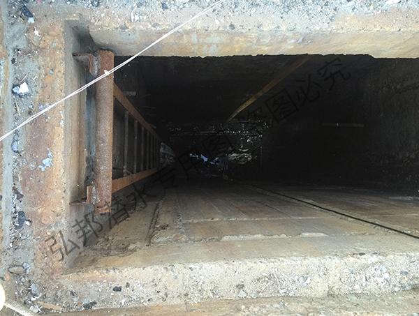 吉林污水处理厂闸门修理